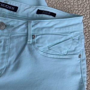 Vigoss Jeans - Vigoss Jagger Skinny Aqua Jeans
